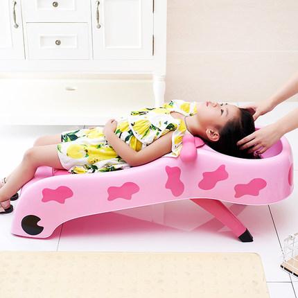 抖音同款:儿童洗头躺椅