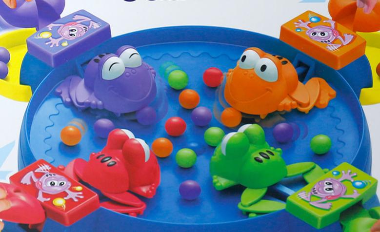 抖音同款玩具:青蛙吃豆豆