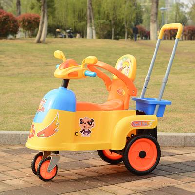 抖音同款:边推边摇婴儿车