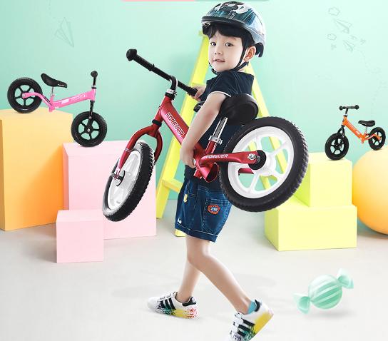 抖音同款平衡车:亲子活动比赛专用儿童滑步车