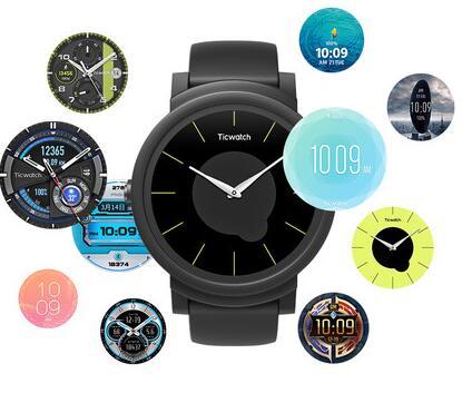 抖音同款手表:可以换表盘的手表TicWatch E