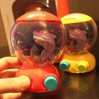 抖音同款玩具:鲨鱼吃鱼游戏水机
