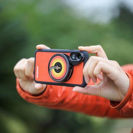 抖音同款:iPhone X手机镜头