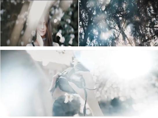 PRAE转场特效:30个漂亮唯美的光斑漏光特效视频素材