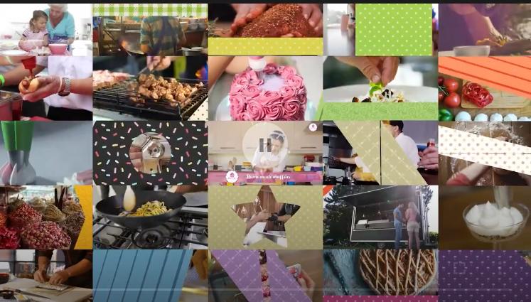 动画转场视频素材 121组食物美食卡通遮罩图形背景包装4K视频高清素材