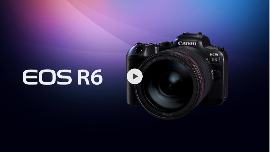 Canon佳能EOS R6 价格优惠活动 免息分期