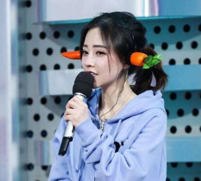 冯提莫同款胡萝卜耳机-1